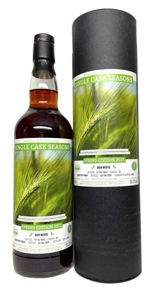 BEN NEVIS 2013-2021 Single Cask Seasons Spring 2021